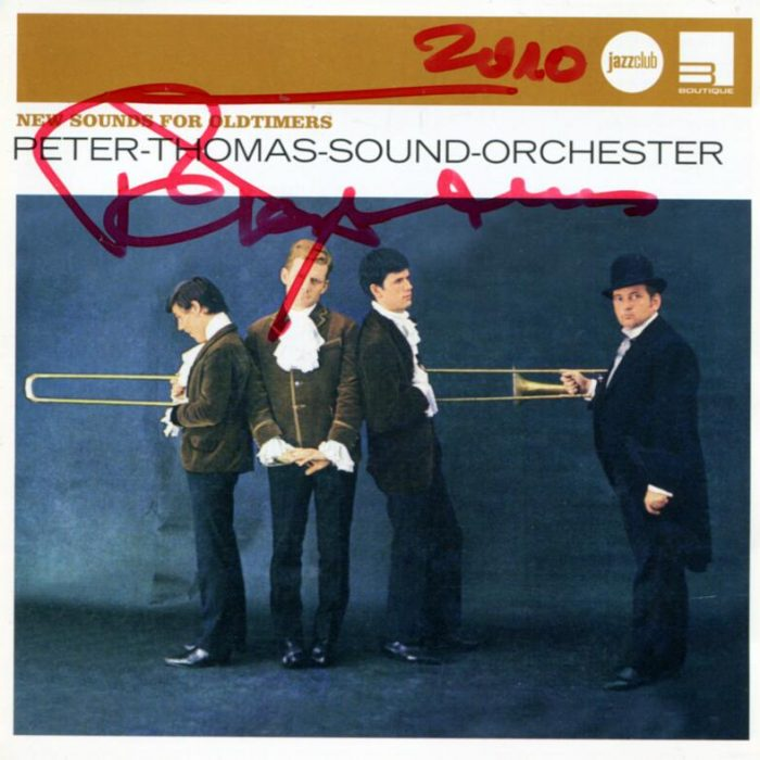 New Sounds for Oldtimers (Compilation), Peter Thomas Sound Orchester