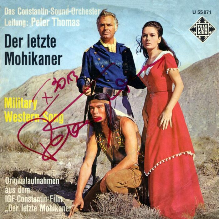 Der letzte Mohikaner (title theme from the film of the same name)