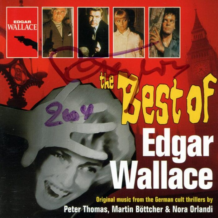 The Best Of Edgar Wallace (Compilation), Peter Thomas / Martin Böttcher / Nora Orlandi