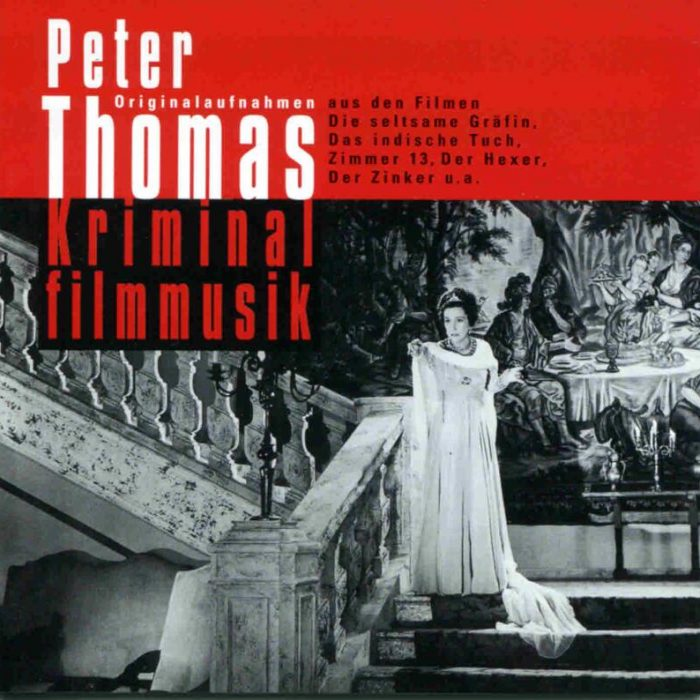 Kriminalfilmmusik (Compilation), Peter Thomas