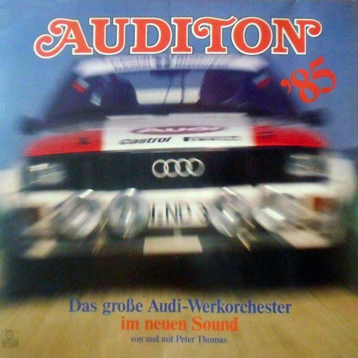 Auditon '85, Peter Thomas und das große Audi-Werkorchester