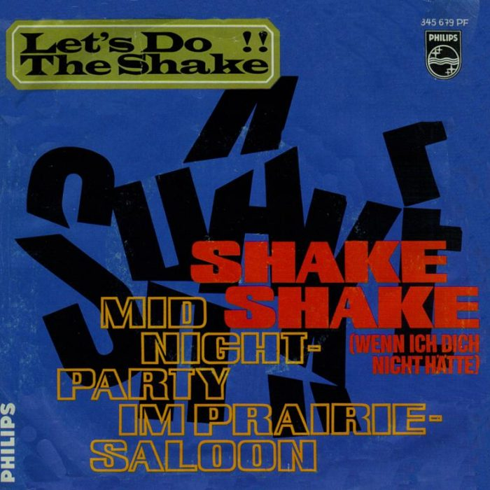 Shake Shake (Wenn ich dich nicht hätte)